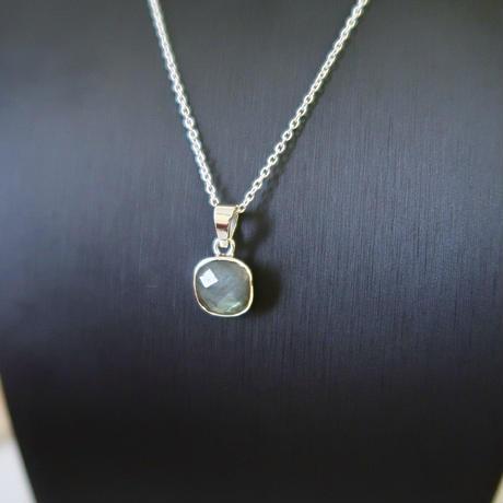 silver925 labradorite necklace