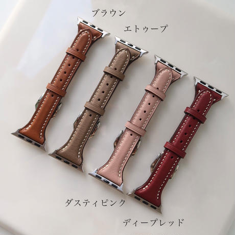 Handcrafted Apple watch leather band