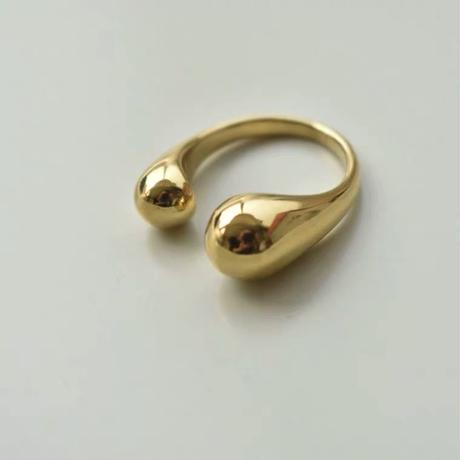 classic ring /18k gold plated