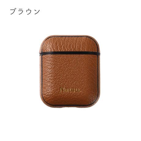 【8月9日発送予定】alran chevre sully leather airpods case【カラー⑴】