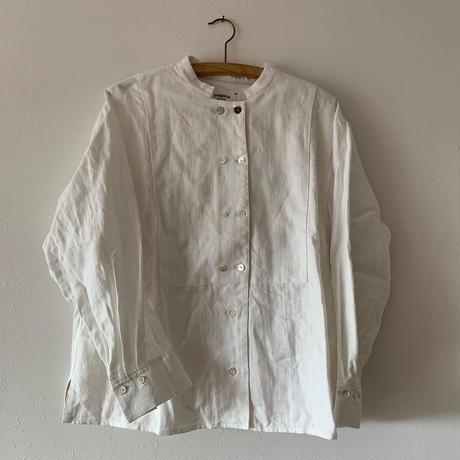 めがね「春のコックシャツ」white