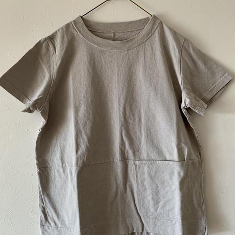 ハンズオブクリエイション  フロントポケットTシャツ gray