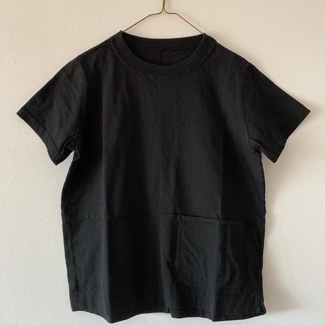 ハンズオブクリエイション  フロントポケットTシャツ black