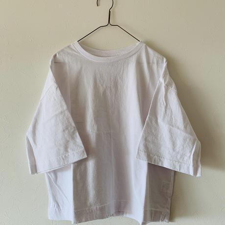 ハンズオブクリエイション 5分丈 Tシャツwhite