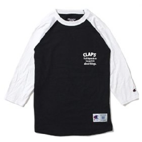 CLAPS  RAGLAN  BLACK  BASE