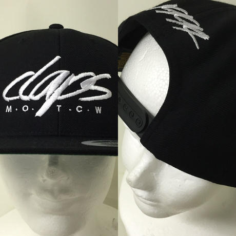 CLAPS SIGN SNAP BACK (B/K)