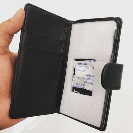 CLAPS BASIC 型押し手帳型 iPhoneCase  X用/XS用