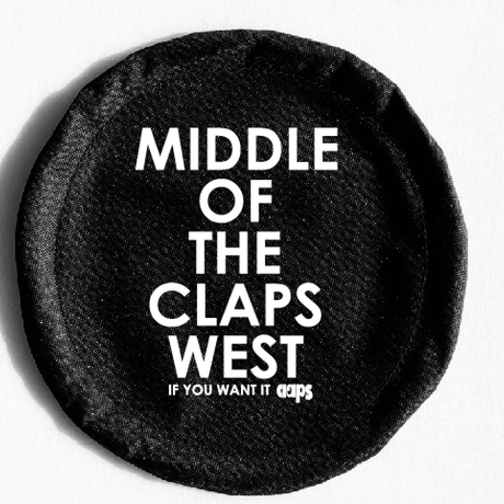 CLAPS FLYING DISC BLACK