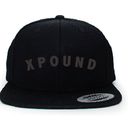 XPUUND CAP (BLACK×BLACK)