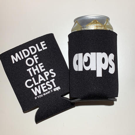 CLAPS COOZIE  Drink holder (BLACK)
