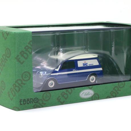 エブロ 1/43 オースチン ミニ バン RAC ブルー (44563)