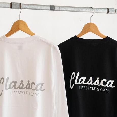 Classca ロングTシャツ(ブラック / ホワイト)