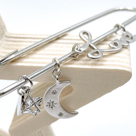 pin -love argent-