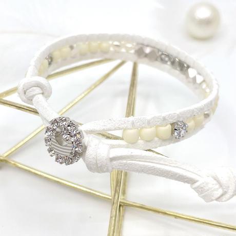 lune perle blanc argent