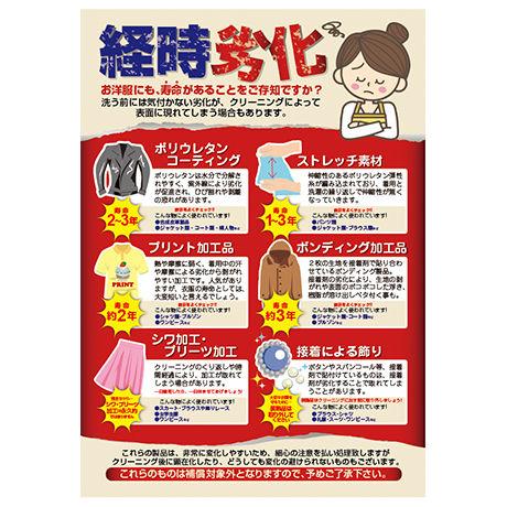 「経時劣化」販促ポスター:A2サイズ(420×594mm)