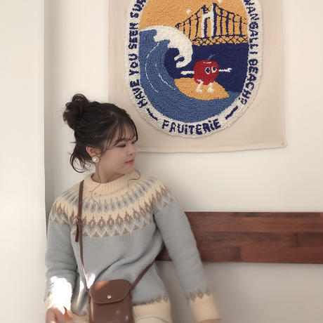 Nordic sweater / 3color