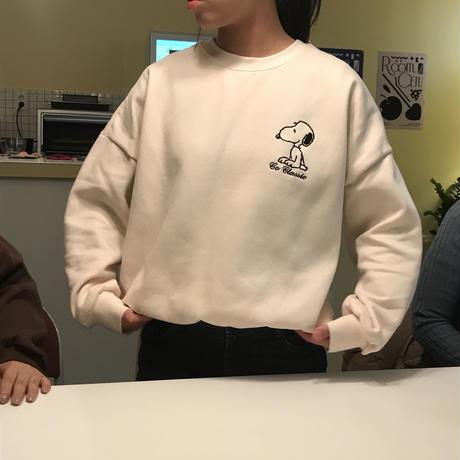 SNOOPY kimou tee / Cream
