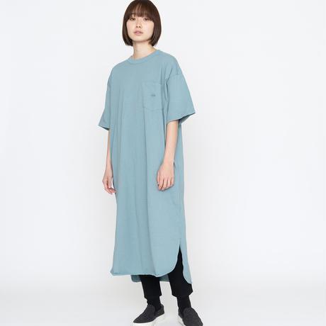 2021FW. THE NORTH FACE PURPLE LABEL5.5oz H/S Crew Neck Dress / NTW3154N /パープルレーベル ドレス