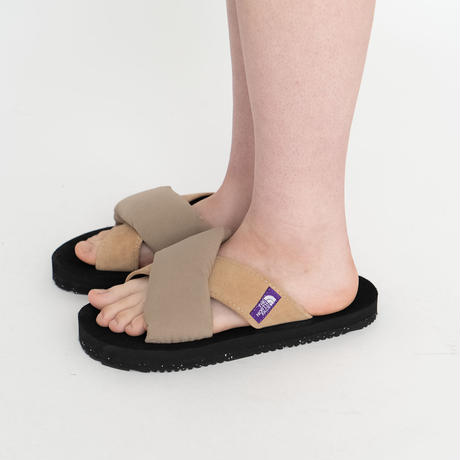 2021SS. THE NORTH FACE PURPLE LABEL Lounge Nuptse Sandal ーNF5100N /ザノースフェイスパープルレーベル サンダル