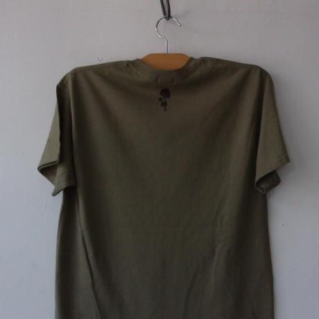2021 High Summer GreenClothing JUNGGLE (Degarashi) Tee /T-SHIRTS/グリーンクロージング Tシャツ