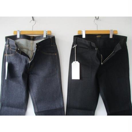 A Vontage(アボンタージ) Slim Jeans -13.5oz Stretch Denim-:#44INDIGO #22BLACK