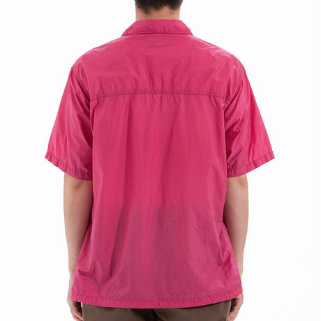 【SALE】The North Face PURPLE Nylon Ripstop H/S Shirt/ザノースフェイスパープルレーベル リップストップ オープンカラーシャツ