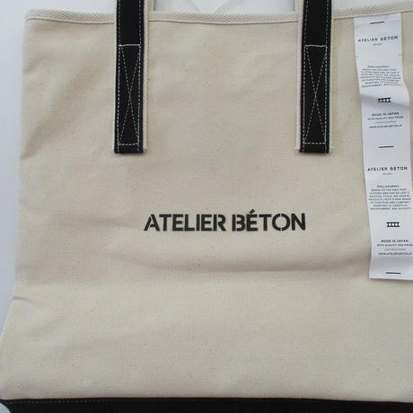 2019 AUTUMN AND WINTER. ATELIERBETON/アトリエベトン CANVAS TOTE BAG/キャンバス トート バッグ