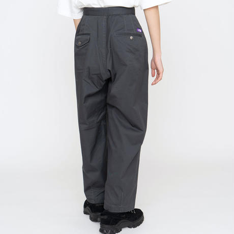 2021FW. THE NORTH FACE PURPLE LABEL Stretch Twill  Wide Tapered Pants/NT5052N/パープルレーベル ワイドテーパード パンツ