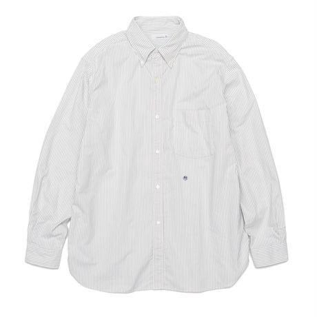 2021FW. nanamica Button Down Stripe Wind Shirt-SUGS109 /ナナミカ ボタン ダウン ストライプ シャツ