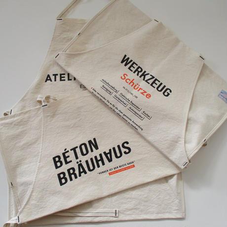 2021 ATELIER BETON/アトリエべトン WORK APRON/ワーク キャンバス エプロン