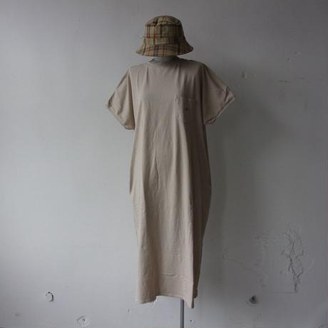 【SALE】2021SS. THE NORTH FACE PURPLE LABEL 5.5oz H/S Crew Neck Dress/NTW3115N/パープルレーベル ワンピース