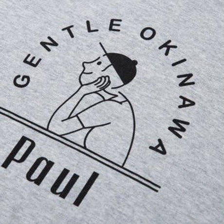 GENTLE OKINAWA Paul ロゴ カットソー