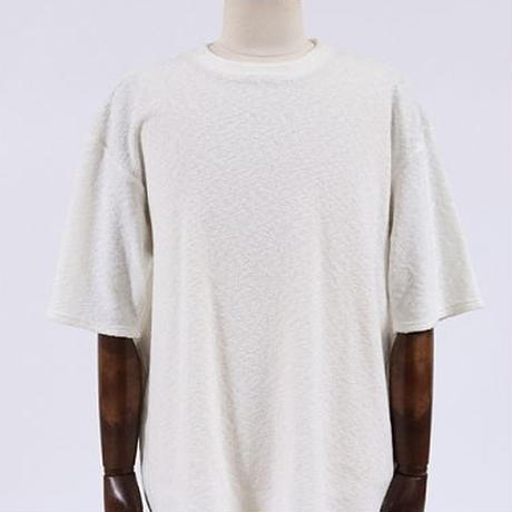 【ANGENEHM(アンゲネーム)】Stretch Pile Big Tee(MADE IN JAPAN) Tシャツ