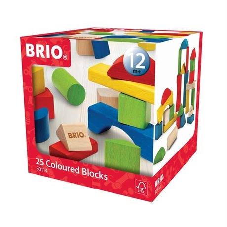 BRIO(ブリオ) カラーつみき25ピース
