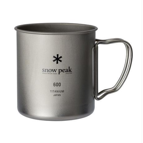 snow peak チタンシングルマグ600