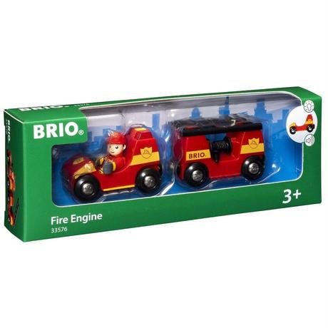 BRIO(ブリオ) ライト&サウンド付消防車