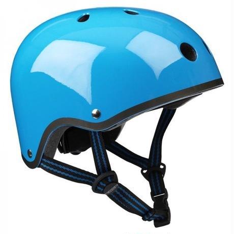 m-cro(マイクロスクーター) ヘルメット (ネオンブルー)(Mサイズ)