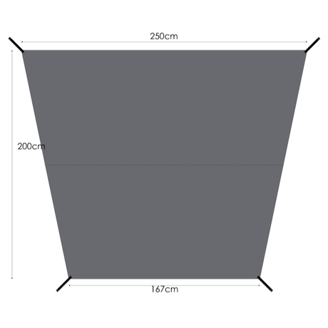 MURACO(ムラコ) GROUND SHEET for 4P TENT