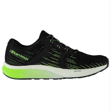 英国直輸入カリマー ランニングシューズ ブラック/ライム Karrimor Excel 3 Mens Running Shoes  Colour Black/Lime