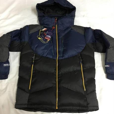 114 海外アウトドアメーカー MONTOPICA ダウンジャケット藍/黒 100L
