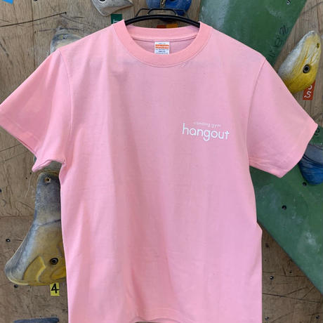 ハングアウト オリジナルTシャツ ピンク