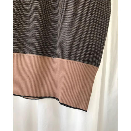 CLO157 : mesh French sleeve pullover