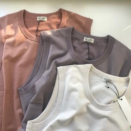 CLO181 : U-neck vest