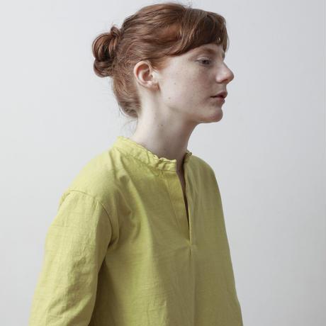 CLO208 : slit-neck pullover