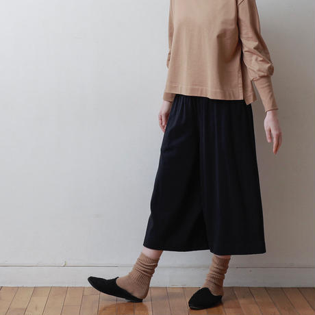 CLO212 : gathered culottes