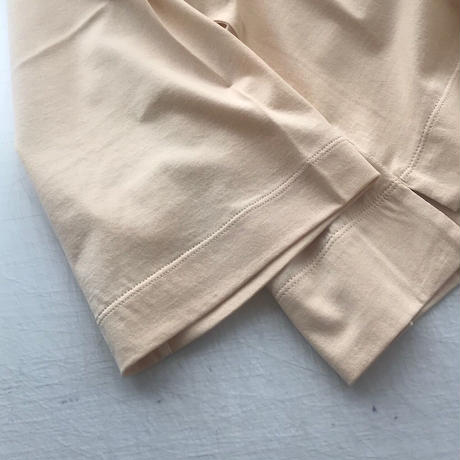 CLO182 : boat-neck 3/4 sleeve tee