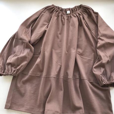 CLO191 : smocked pullover
