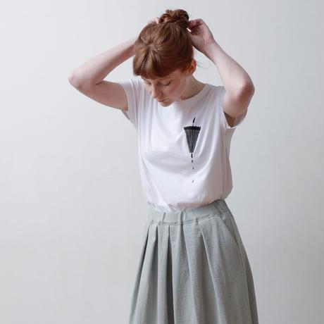 CLO198 : French sleeve print tee