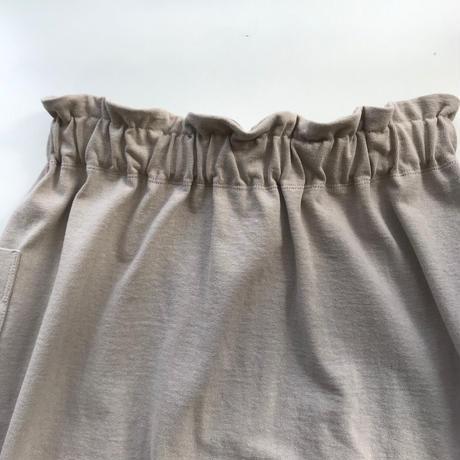 CLO188 : tucked long skirt