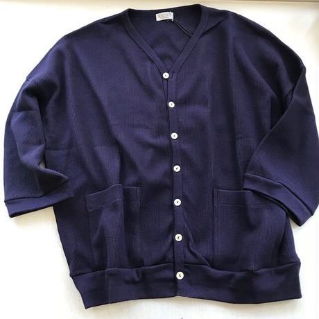 CLO194: V-neck drop shoulder cardigan